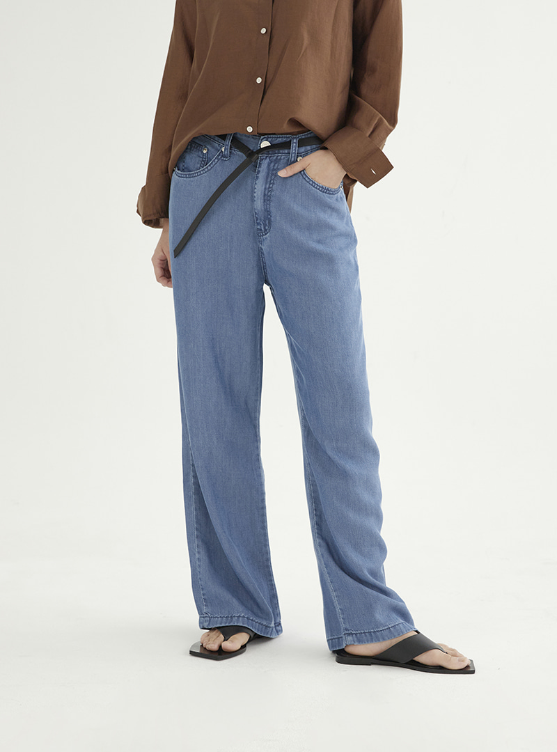 Tencel Denim Pants