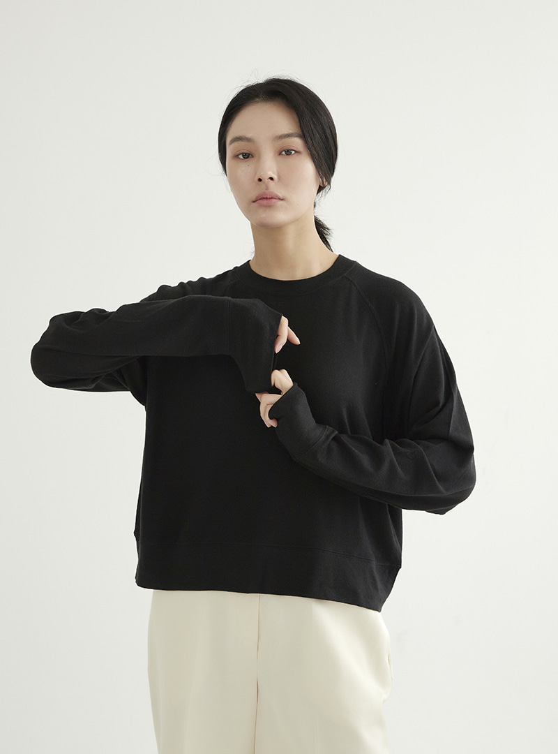 Raglan Sleeve Box Tee (3 Colors)