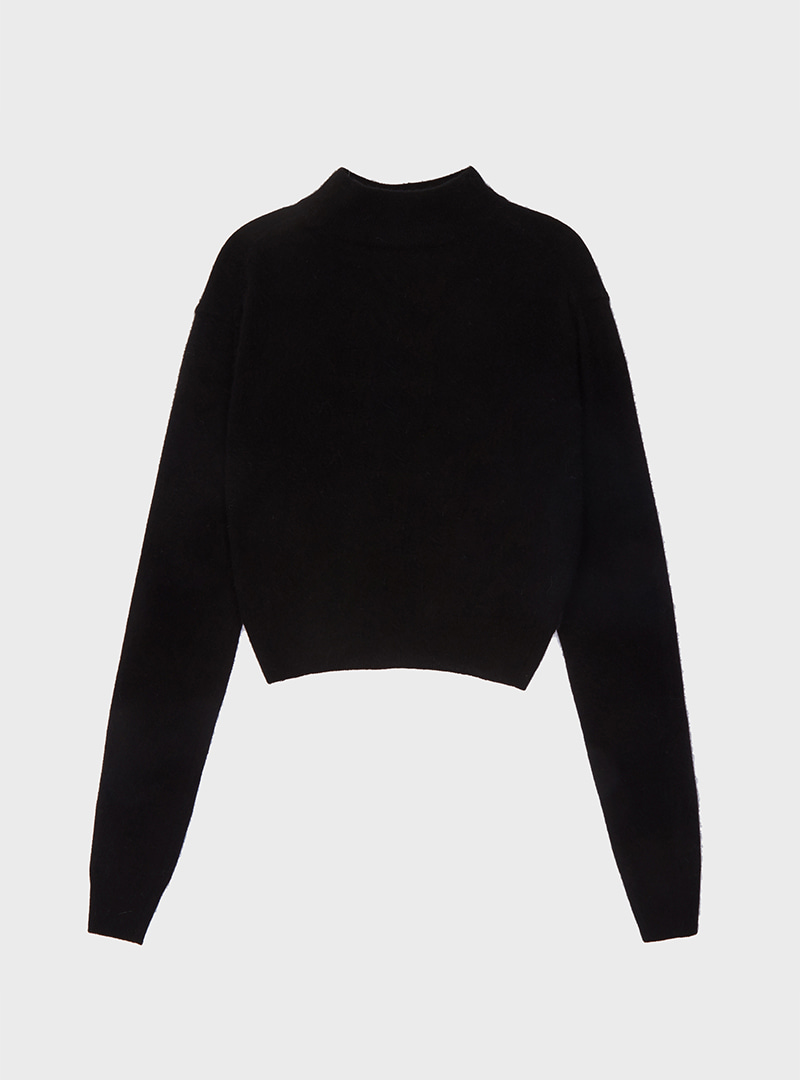 Racoon Crop Knit (2Colors)