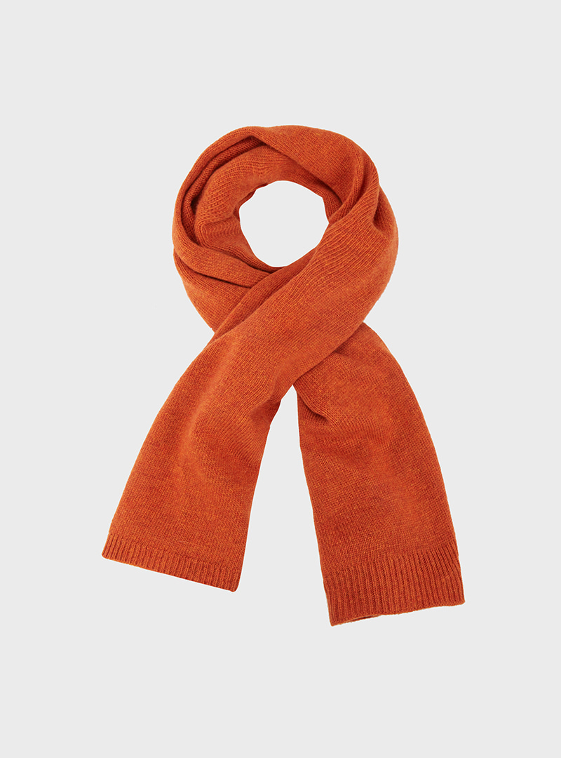 Cashmere Knitted Mini Muffler (5Colors)