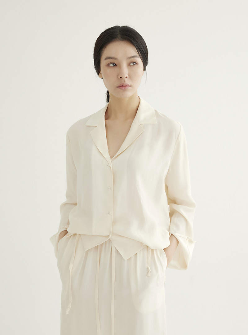 Shirt Jacket Cream