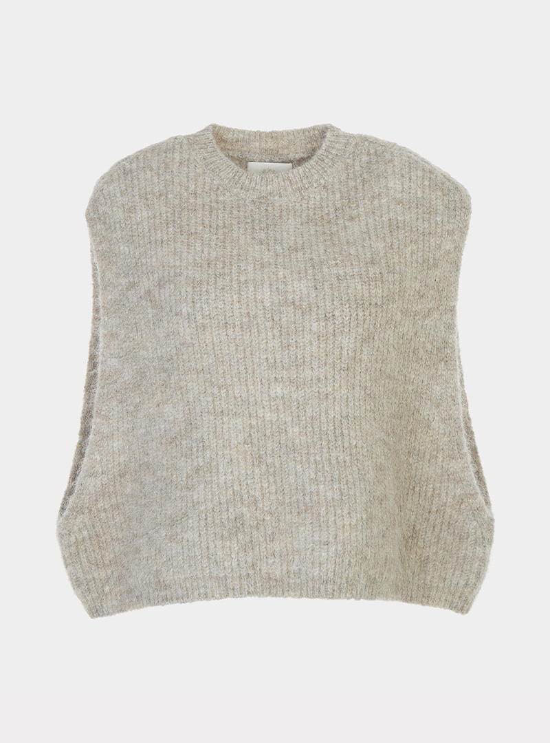 Mohair Over Vest (2 Colors)